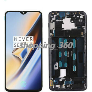 For-OnePlus-6T-A6010-A6013-LCD-Touch-Screen-Digitizer-Glass-Frame-USPS