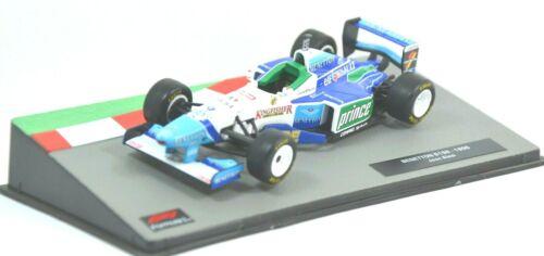 M1771 Modellino auto F1 scala 1:43-1996 Benetton B196 #3 Alesi