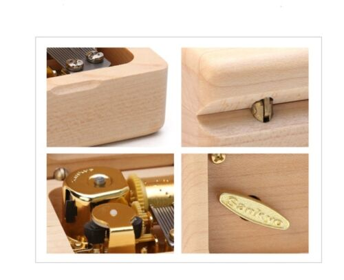 Beech Wood Wind Up  Music Box When You Wish Upon A Star