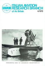 ITALIAN AVIATION RESEARCH 04/73 FACSIMILE: AC INTERNED BY SWISS/ CNA LIGHTS