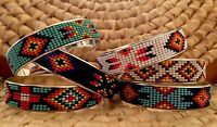 Boho Native American Inspired Southwestern Bracelets, Beaded, Ethnic, Coachella