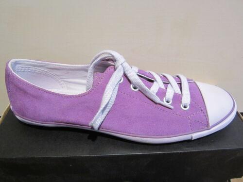 Scarpe Ladies Viola stringate Nuovo Pelle Converse xPYwAgqq