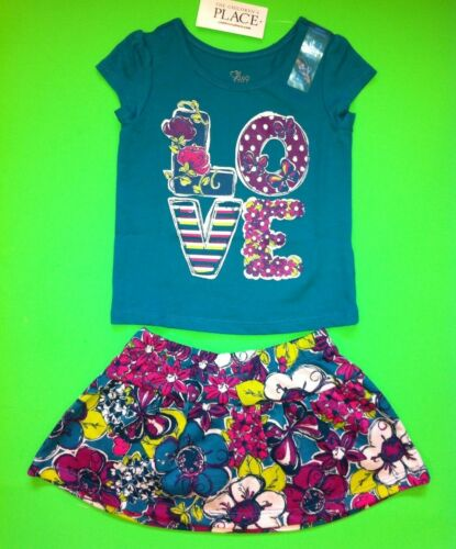 ~NEW~ Baby Girls Graphic Shirts Skorts Skirt Shorts 6-9 12 18 24 Months 2T 3T 4T