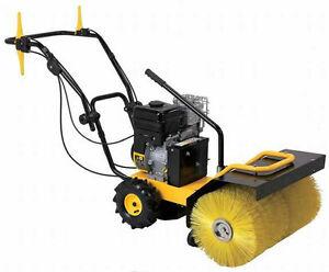 Pow R Kraft 24 Quot Walk Behind Powered Sweeper Snow Sweeper W