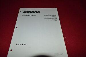 Bolens 3112G ST120 3212G Suburban Tractor Dealer's Parts