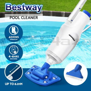 Bestway-Automatic-Pool-Cleaner-Vacuum-Sucker-Cordless-With-Pole-Rechargeable