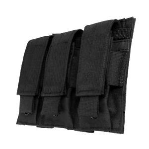 NcSTAR-BLACK-Triple-MOLLE-PALS-Pistol-Mag-Magazine-Pouch-Holster-M9-1911-9mm-45