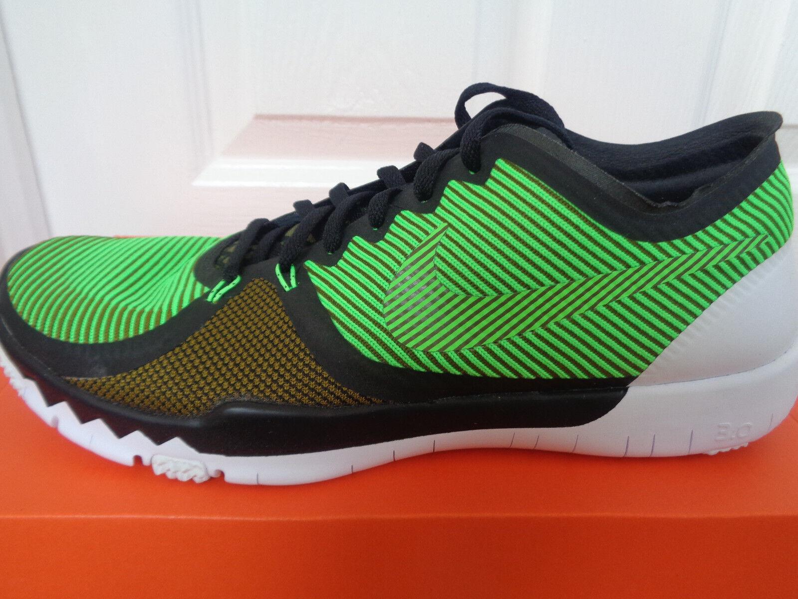 Nike Free Trainer 3.0 V4 Entrainement Baskets 749361 033uk 9 UE 44 us 10 Neuf + Boîte
