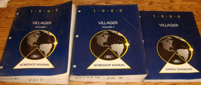 1999 Mercury Villager Shop Service Manual Vol 1 2   Wiring