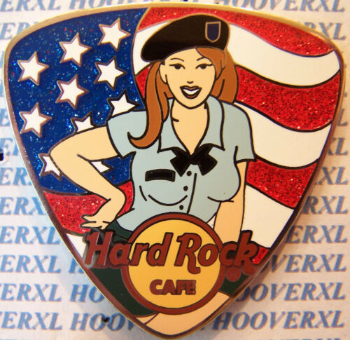 2009 HARD ROCK CAFE ON LINE PATRIOT GIRLS PICK SERIES LE PIN