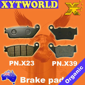 FRONT-REAR-Brake-Pads-YAMAHA-WR-125-X-Supermoto-2009-2012-2013-2014-2015-2016