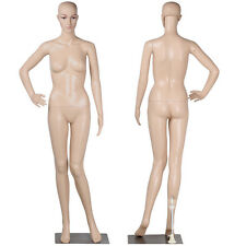adjustable full body female mannequin realistic shop display head