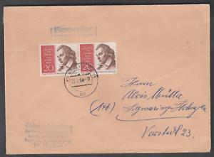 BERLIN 1959 Nr.190 (MeF) auf Brief