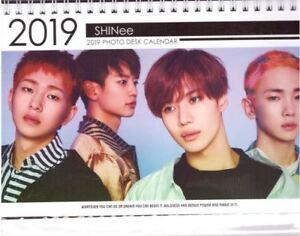 Details about SHINEE KPOP Calendar 2019 & 2020 01