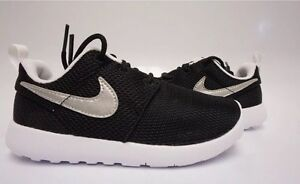 c0191414fbad Nike Roshe One (TDV) Pre School Size 5C 749430-021 Black Metallic ...