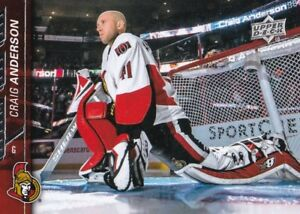 Craig Anderson 2015-16 Upper Pont Série Two Hockey- #387 mgRMYFtQ-09163919-146902544
