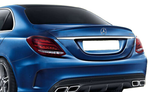 PAINTED MERCEDES C-CLASS 4-DOOR FLUSH MOUNT REAR WING SPOILER 2015-2018