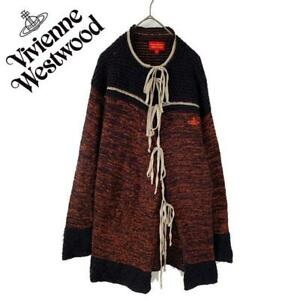 Vivienne Westwood Deformation Cardigan Knit Size M from Japan Used E66