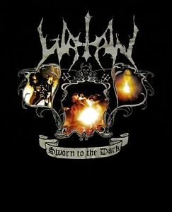 WATAIN-cd-lgo-To-the-Death-Flames-SWORN-IN-DARK-Official-SHIRT-XL-new
