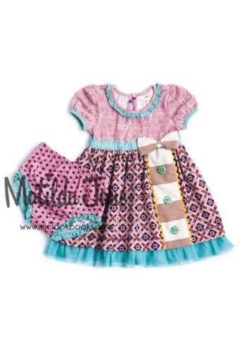 NWT Matilda Jane 3 6 12 18 24 M Out of The Way Dress Once Upon Time Diaper Cover