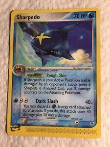 Pokemon Card rare Ruby /& Sapphire 22//109 - NM//Mint SHARPEDO