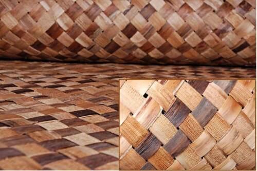 Bac Bac Multi-Color LAUHALA Cabana Weave Matting-Wall//Ceiling Covering-4x8 Rolls