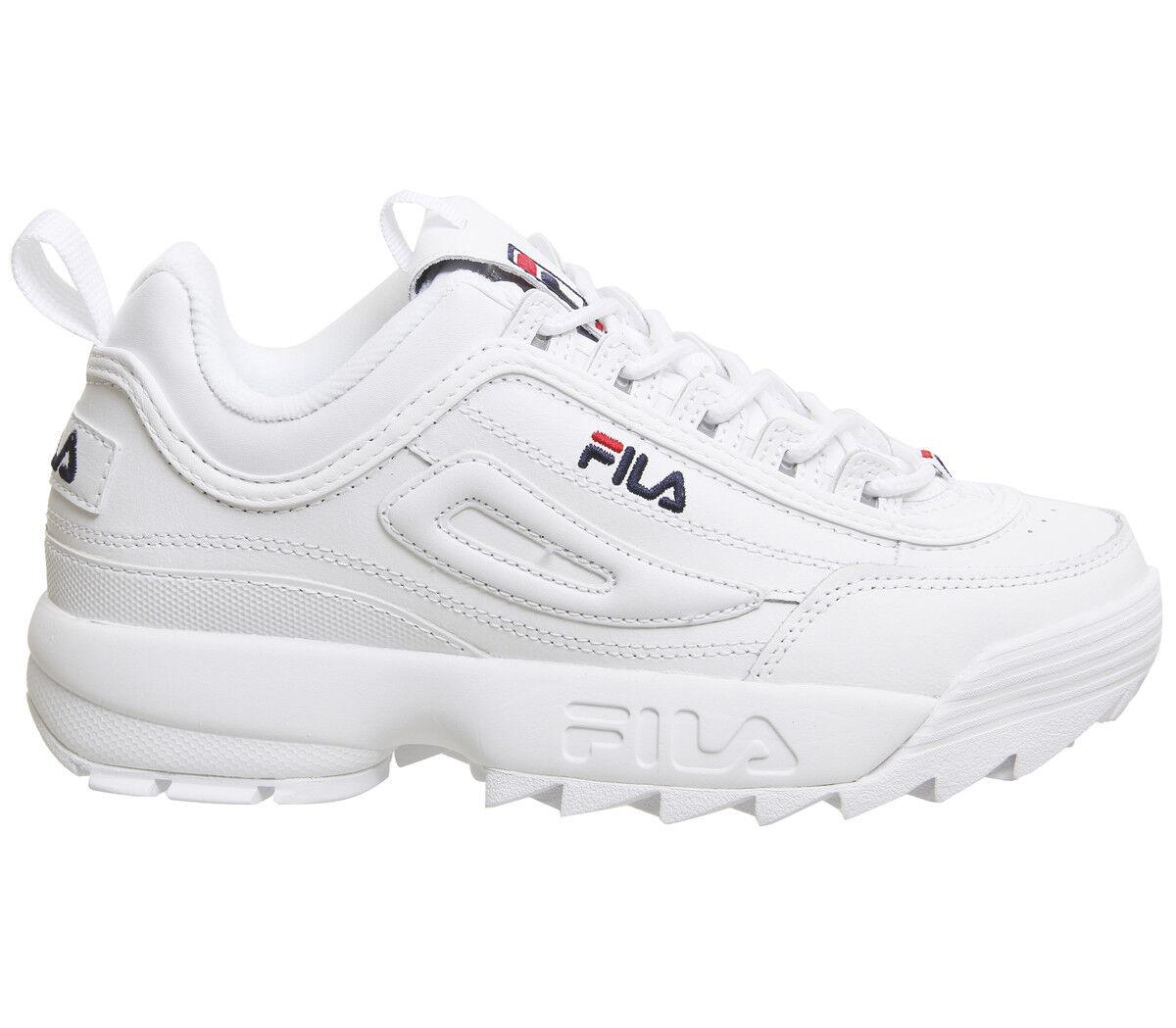 72944da67aa842 2019 Fila Disruptor sneakers basse uomo donna 2 generazioni 5 5 di 6 ...