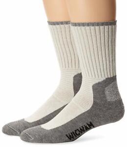 Wigwam Mens Journeyman Ultra-Lightweight Crew Work Socks 2-Pack