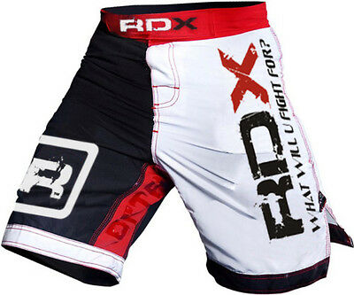 Authentic RDX Fight Shorts UFC MMA Grappling Short Kick Boxing Muay Thai Men US