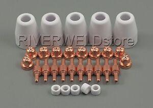 PT31-LG-40-Plasma-Electrode-Tips-Nozzle-Consumables-Fit-CT-312-CUT-40-50D-30pcs