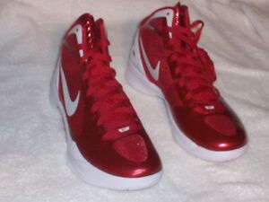 cheap for discount 1800e 0fb45 Image is loading NIKE-ZOOM-Sneakers-HYPERDUNK-2011-NIB-Varsity-Red-