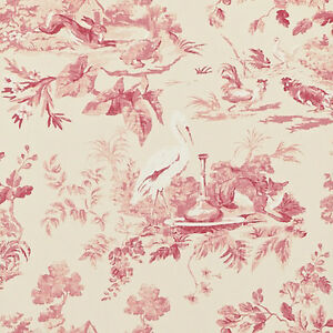 pink dcavae101 aesops fables caverley sanderson wallpaper ebay. Black Bedroom Furniture Sets. Home Design Ideas