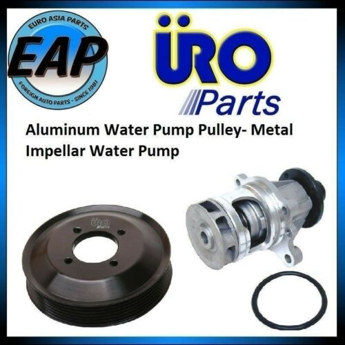 For BMW 318I 318IS 318TI Z3 E36 Aluminum Water Pump Pulley w// Water Pump NEW