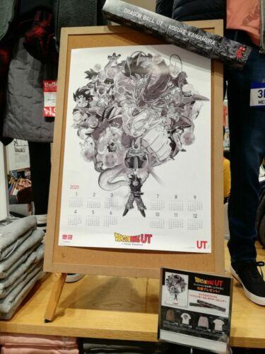 DRAGON BALL Z UNIQLO UT L=M PINK HOODIE Master Roshi /& Poster Calendar US,EURO