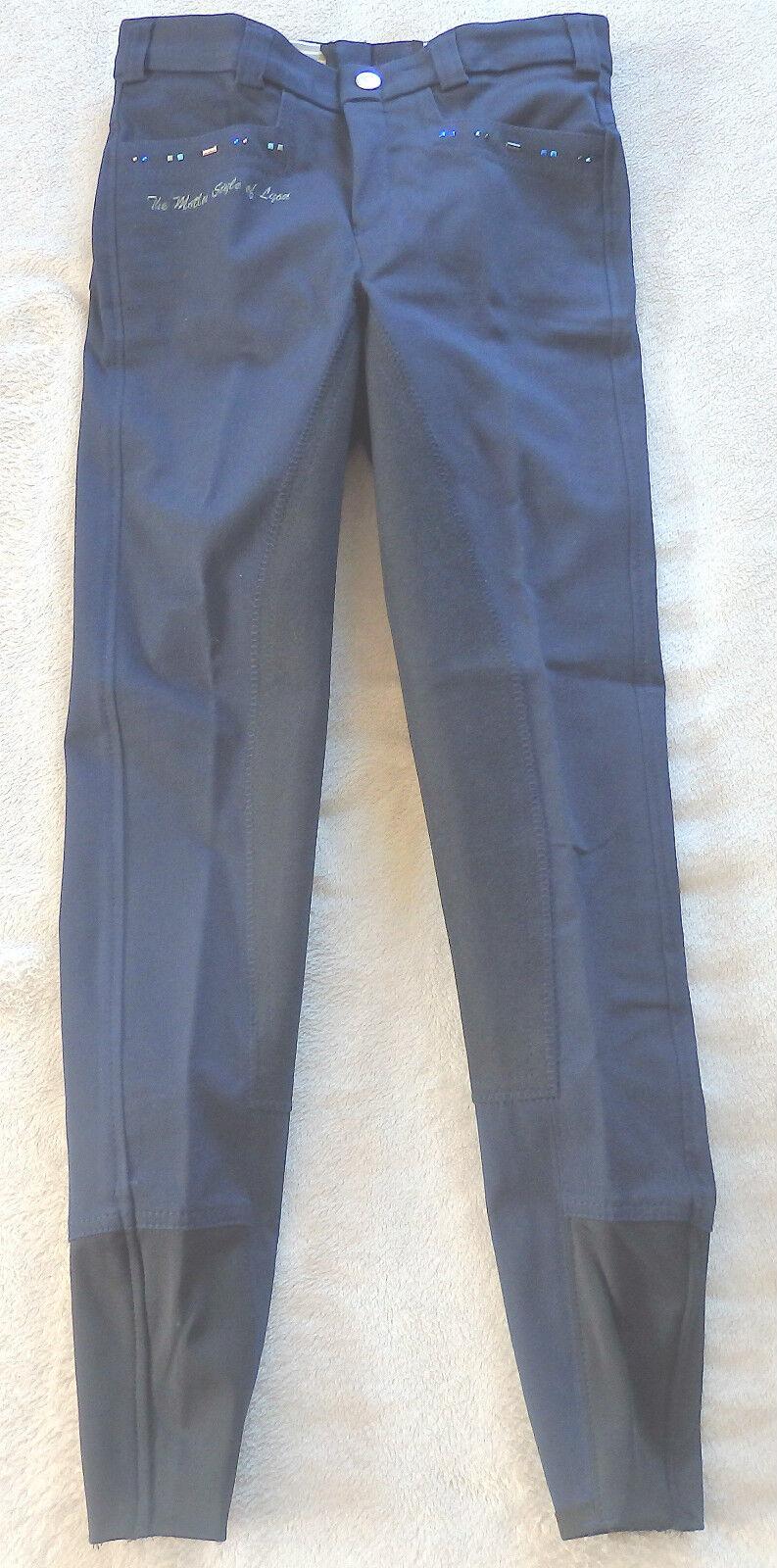 CATAGO  LDRENS JODHPURS, FULL TRIM,  Dark bluee, Size 140SL, stretchabschluß, (4501)  special offer