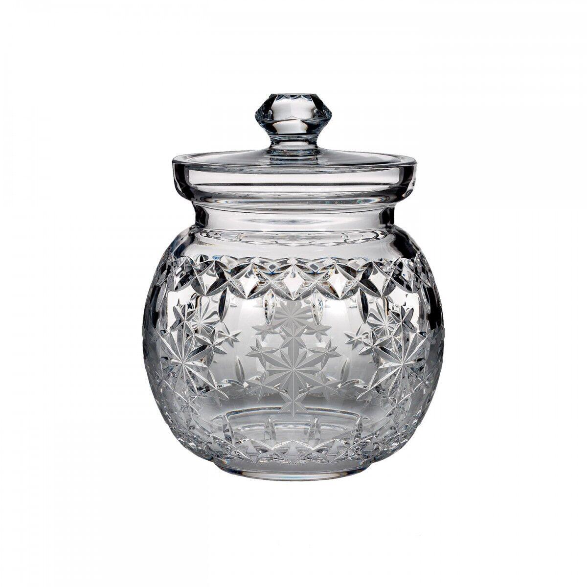 Waterford-Couverts Jar-Flocon de Neige Voeux