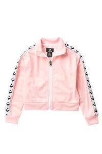 Converse-Star-Chevron-Track-Jacket-Storm-Pink-Girls-Sz-6X-NWT-Retail-32-CUTE