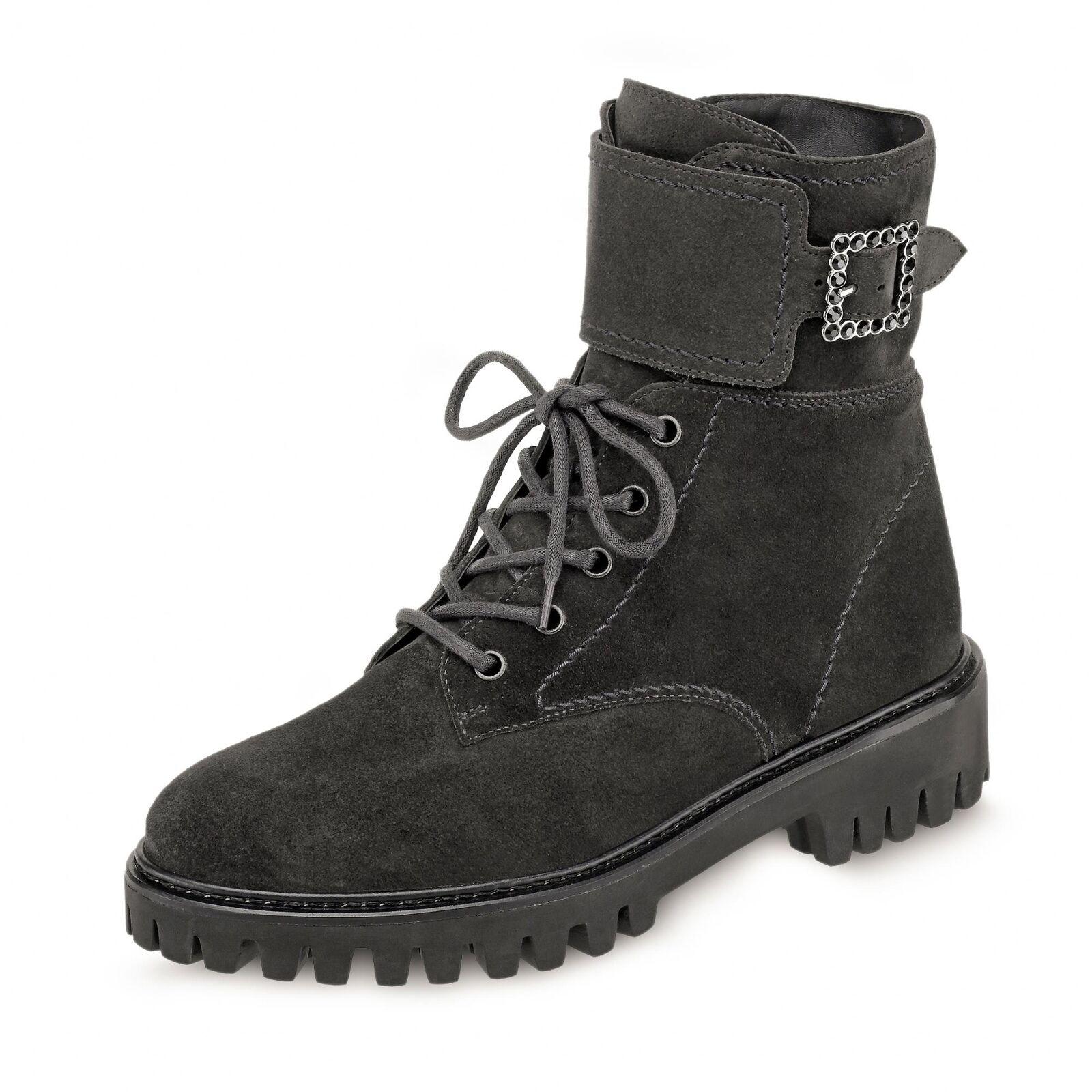 Details zu Damen Stiefel Stiefeletten Plateau Boots High