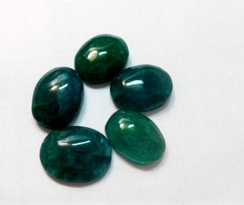 Natural ZAMBIAN GREEN EMERALD OVAL Shape Beautiful Loose Gemstone .Com