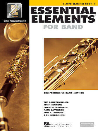 Essential Elements For Band Alto Clarinet Book 1