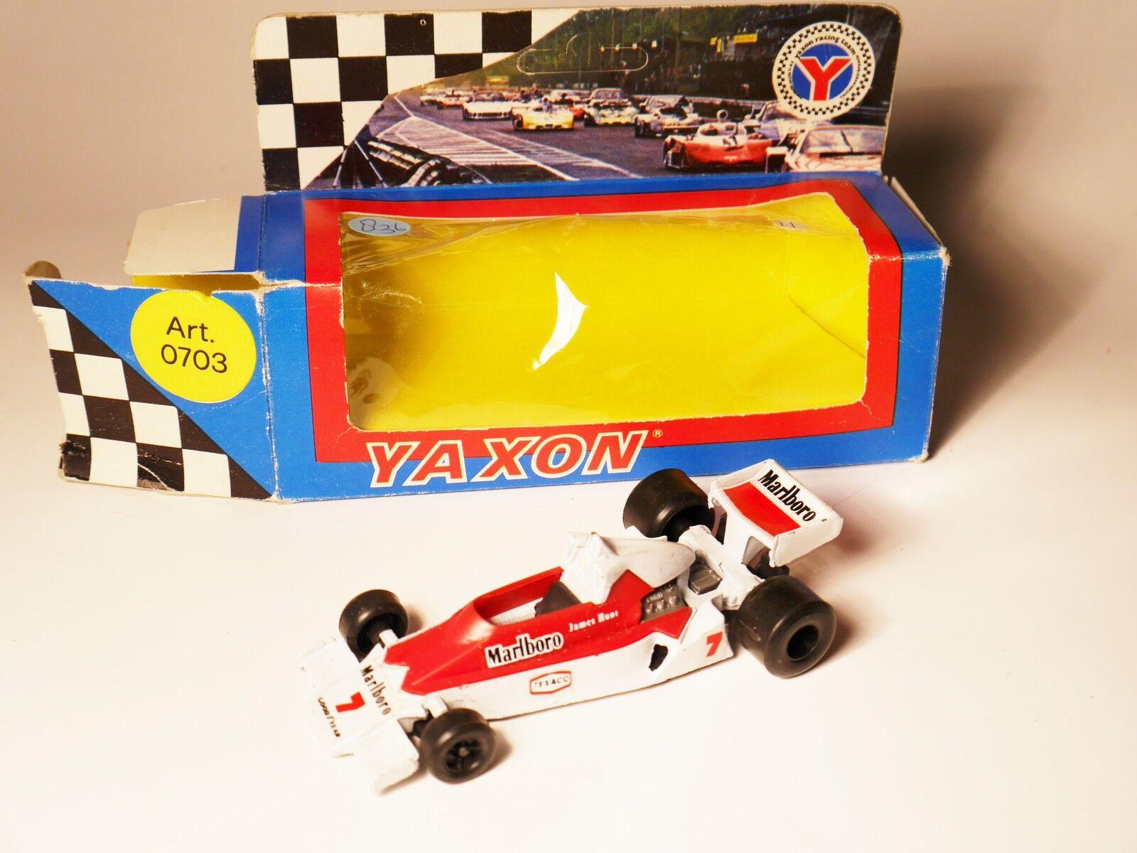 Mc Laren M 26 F1 Formel 1 Rennwagen racing car car car JAMES HUNT Yaxon 1 43 boxed  78543d