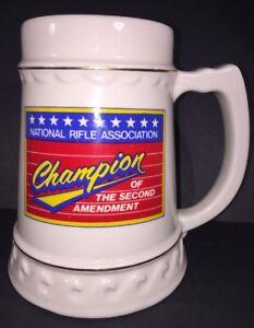 National Rifle Association Beer Stein 24 Oz Size Fired Ceramic | eBay