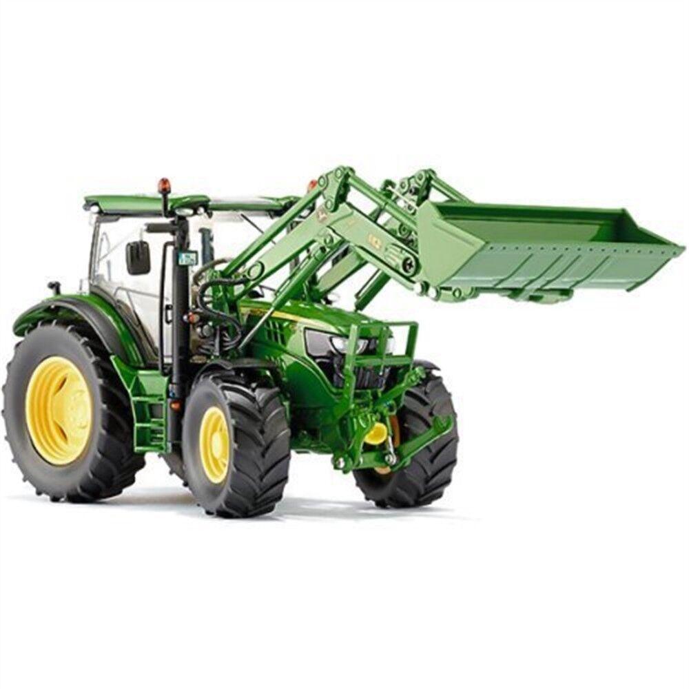 John Deere Deere Deere 6125 W Front Loader-Tractor Wiking 132 6125r Model Scale 077344 FR 9e45b3