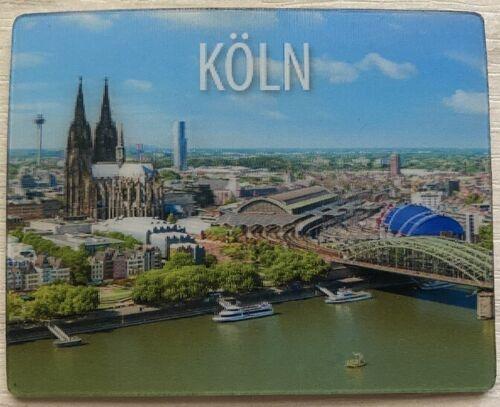 3D Magnet Köln Kölner Dom Rhein Kühlschrankmagnet *neu*