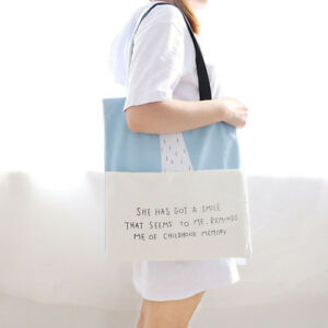 Trendy-Girls-Handbag-Canvas-Woman-Casual-Tote-Bags-Shoulder-Bag-Shopping-Bags
