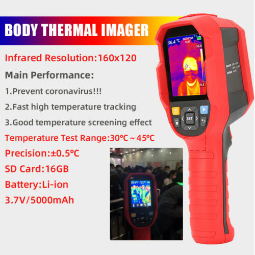 Body Infrared Thermal Imager LED Thermometer Temperature Screening Pyrometers