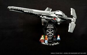 Display-Stand-3D-coude-emplacements-pour-LEGO-7961-75096-Darth-Maul-039-s-Sith-Interceptor