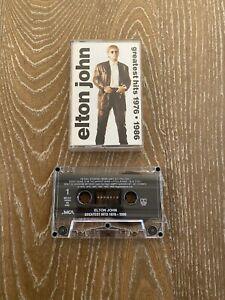 ELTON-JOHN-GREATEST-HITS-1976-1986-CASSETTE-TAPE
