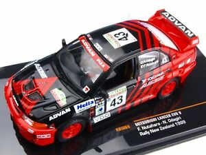 Mitsubishi-Lancer-Evo-V-Rally-Nueva-Zelanda-1999-escala-1-43-por-IXO