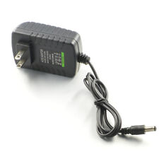Black 2-Pin DC12V 2A AC Adapter Power Supply for 5050 5630 3528 LED Strip 24W